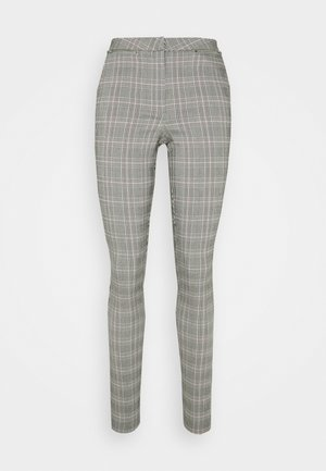 JESSICA ZIP BENG - Trousers - grey