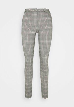 JESSICA ZIP BENG - Pantalon classique - grey