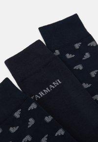Emporio Armani - 3 PACK - Socks - navy - 1