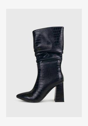 ARIEL  ARRICCIATO AL POLPACCIO - Stivali con i tacchi - black