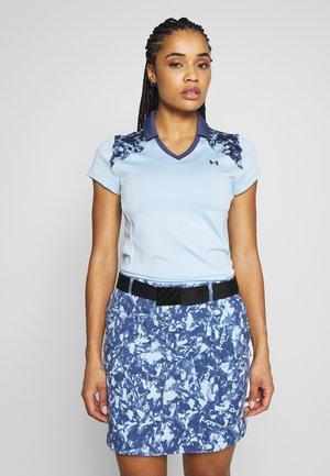 ZINGER BLOCKED - T-shirt z nadrukiem - blue frost/blue ink