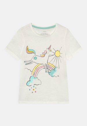 UNICORN TEE - T-shirt print - white