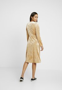Monki - TUVA DRESS - Day dress - beige - 3