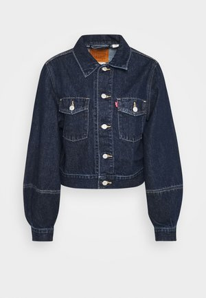 TAILORED TRUCKER - Veste en jean - allow me