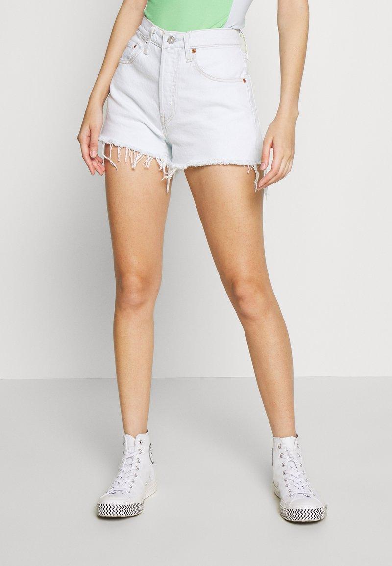 Levi's® - 501® ORIGINAL - Denim shorts - trace indigo