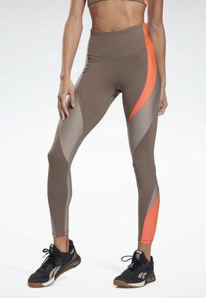 LUX HIGH-RISE LEGGINGS - Leggings - grey