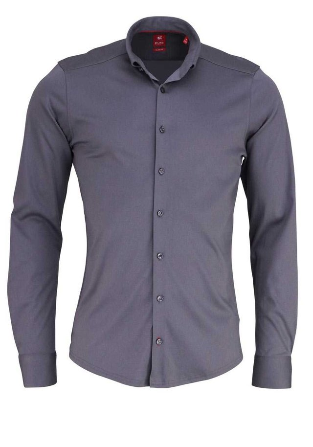 SLIM FIT  - Shirt - grau