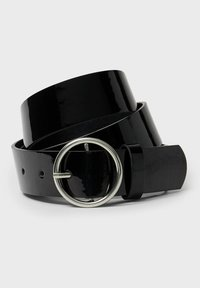 Stradivarius - Belt - black - 3