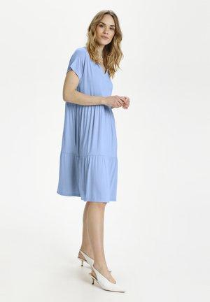 KAPETRA  - Jersey dress - chambray blue