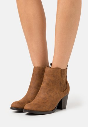PINTOSY - Ankle boots - tan