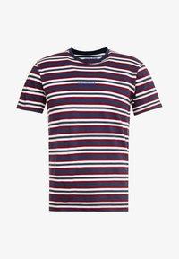 JORDYED TEE CREW NECK REGULAR FIT - Print T-shirt - total eclipse