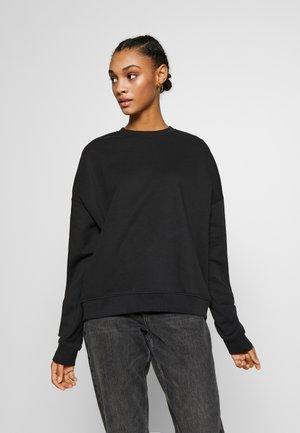 BASIC - Crew Neck - Sweater - black