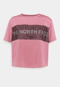 The North Face - Camiseta estampada - mesa rose - 7