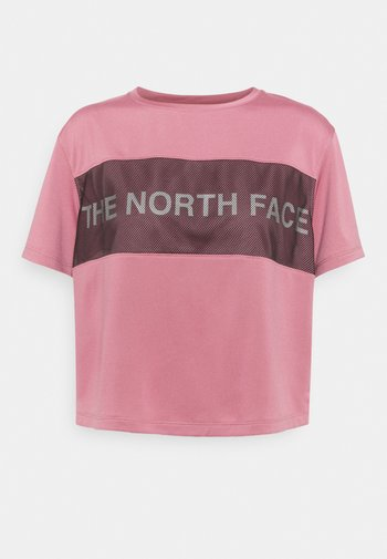 T-shirt imprimé - mesa rose