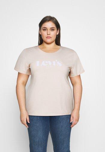PL PERFECT TEE - Print T-shirt - pl new logo scallop shell