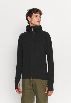 MONO AIR - Zip-up sweatshirt - true black