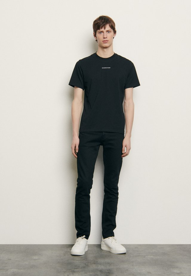 SOLID TEE  - T-shirts - noir