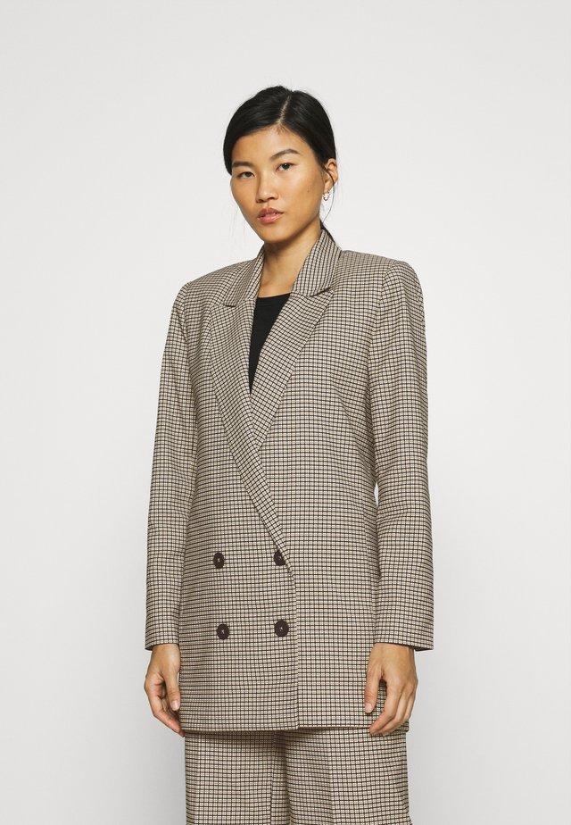 KELLY - Krátký kabát - taupe