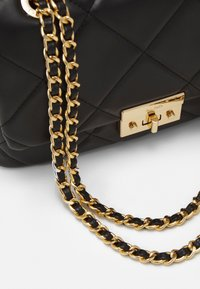 ALDO - ALOJA - Across body bag - jet black/gold - 3
