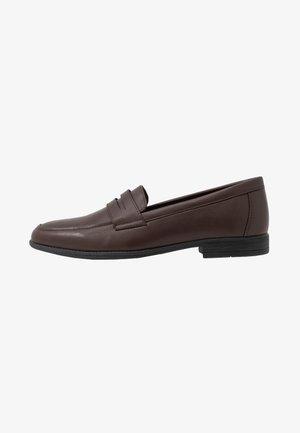 LAWRENCE PENNY LOAFER - Elegantní nazouvací boty - light brown
