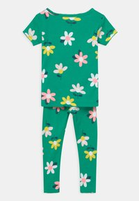 Carter's - FLOWER 2 PACK - Pyjamas - green/yellow - 1