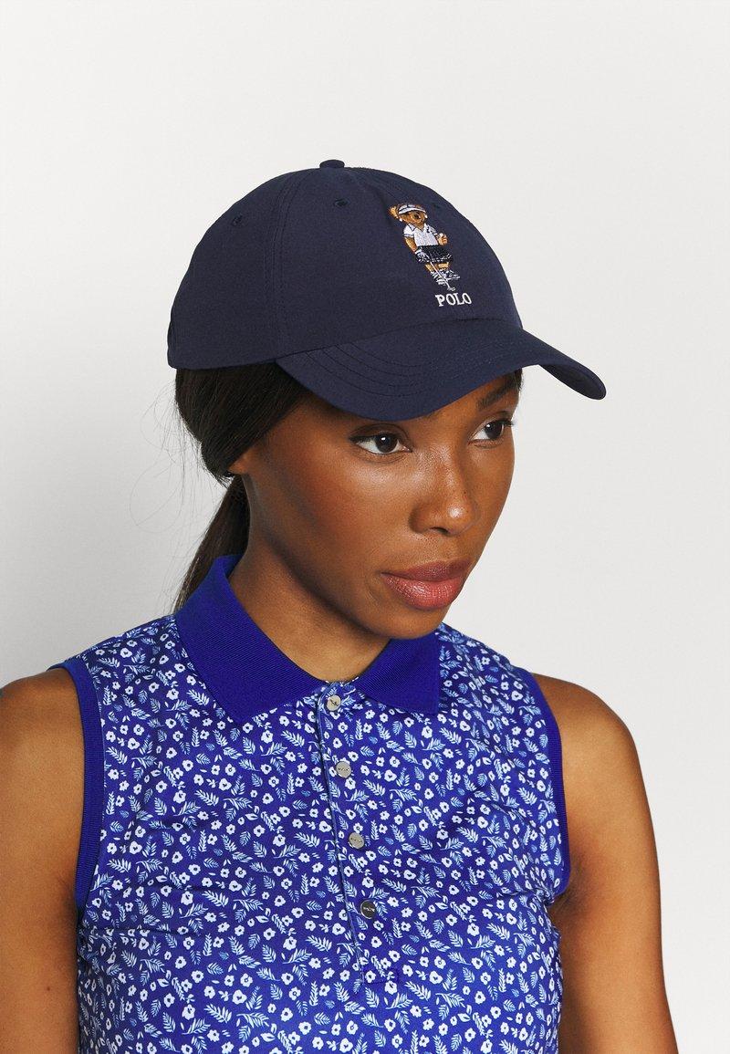 Polo Ralph Lauren Golf - BEAR HAT - Czapka z daszkiem - french navy