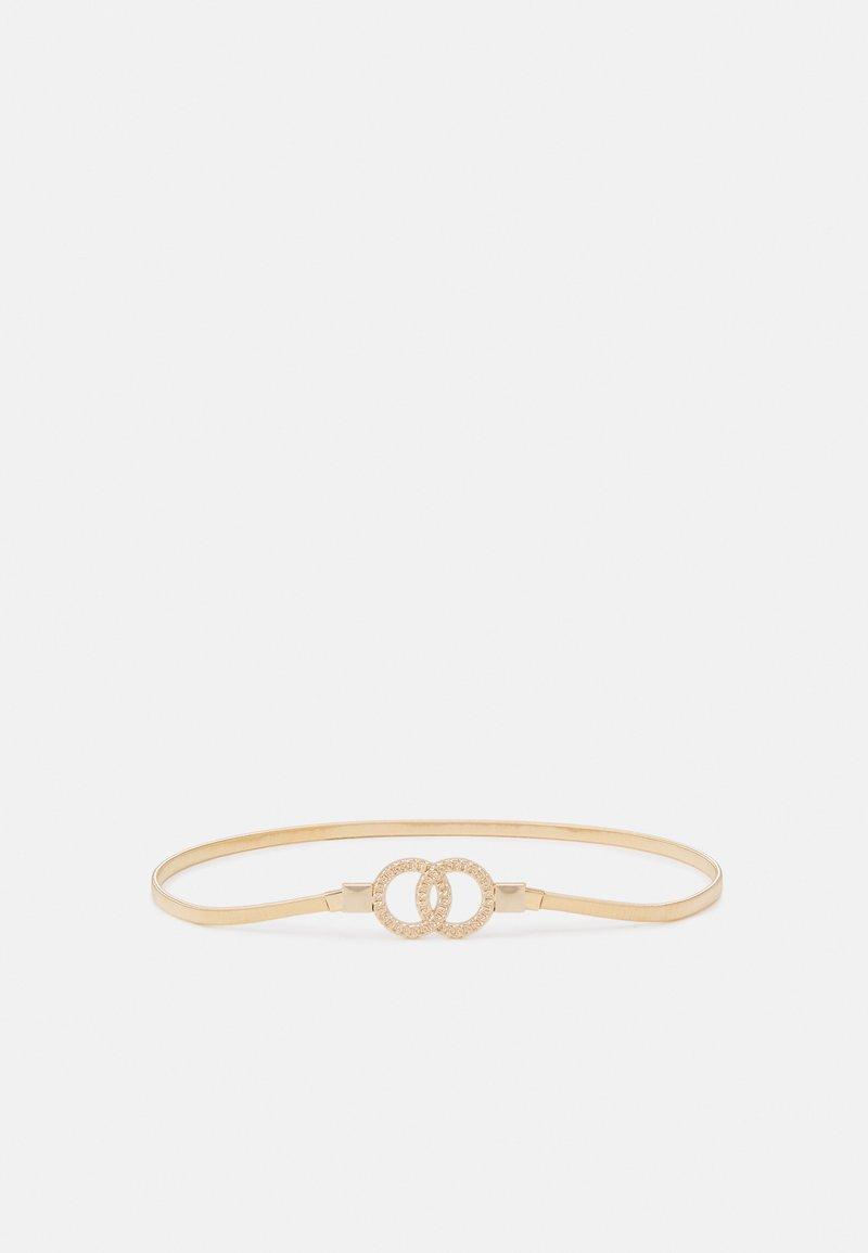 NAF NAF - FAME - Waist belt - light gold-coloured