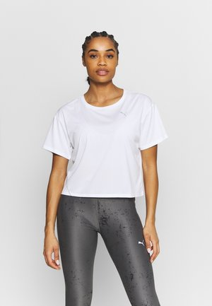 RUN COOLADAPT TEE - T-Shirt basic - white