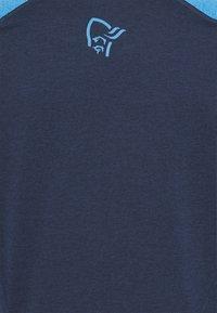 Norrøna - FJØRÅ EQUALISER LIGHTWEIGHT LONG SLEEVE - T-shirt à manches longues - indigo night/campanula - 2
