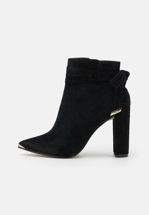 CURSTEN - High heeled ankle boots - black