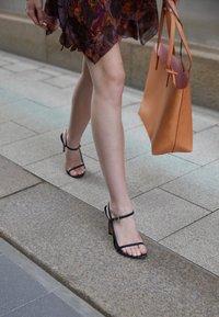 Iro - GIZIA - Sandalen met hoge hak - dark grey - 3