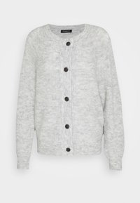 Selected Femme - SLFLULU - Cardigan - light grey melange - 3