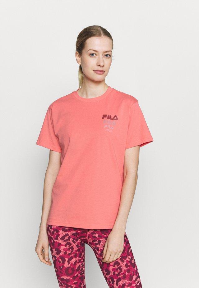 CORA TEE - T-shirt print - tea rose