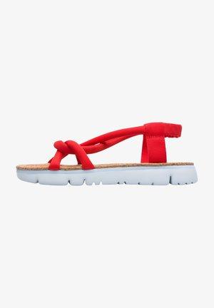 ORUGA - Sandals - rot