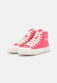 Paul Smith - WOMENS SHOE KIBBY BUBBLEGUM - Sneakers hoog - raspberry - 2
