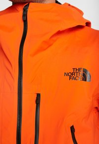 The North Face - M FREETHINKER FutureLight™ JACKET - Kurtka narciarska - papaya orange/black - 4