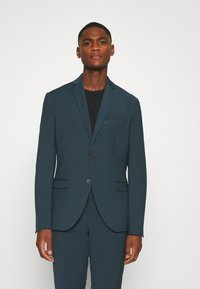 Isaac Dewhirst - PLAIN SUIT - Completo - teal - 2