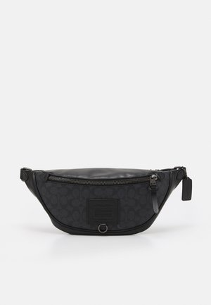 RIVINGTON BELT BAG IN SIGNATURE UNISEX - Bum bag - charcoal