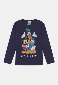 Staccato - DISNEY MICKEY MOUSE MICKEY & FRIENDS 3 PACK - Longsleeve - dark blue/mottled grey/off-white - 2