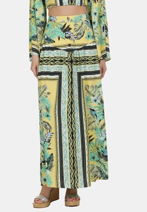 IZIA ROCK - Jupe longue - tropical print