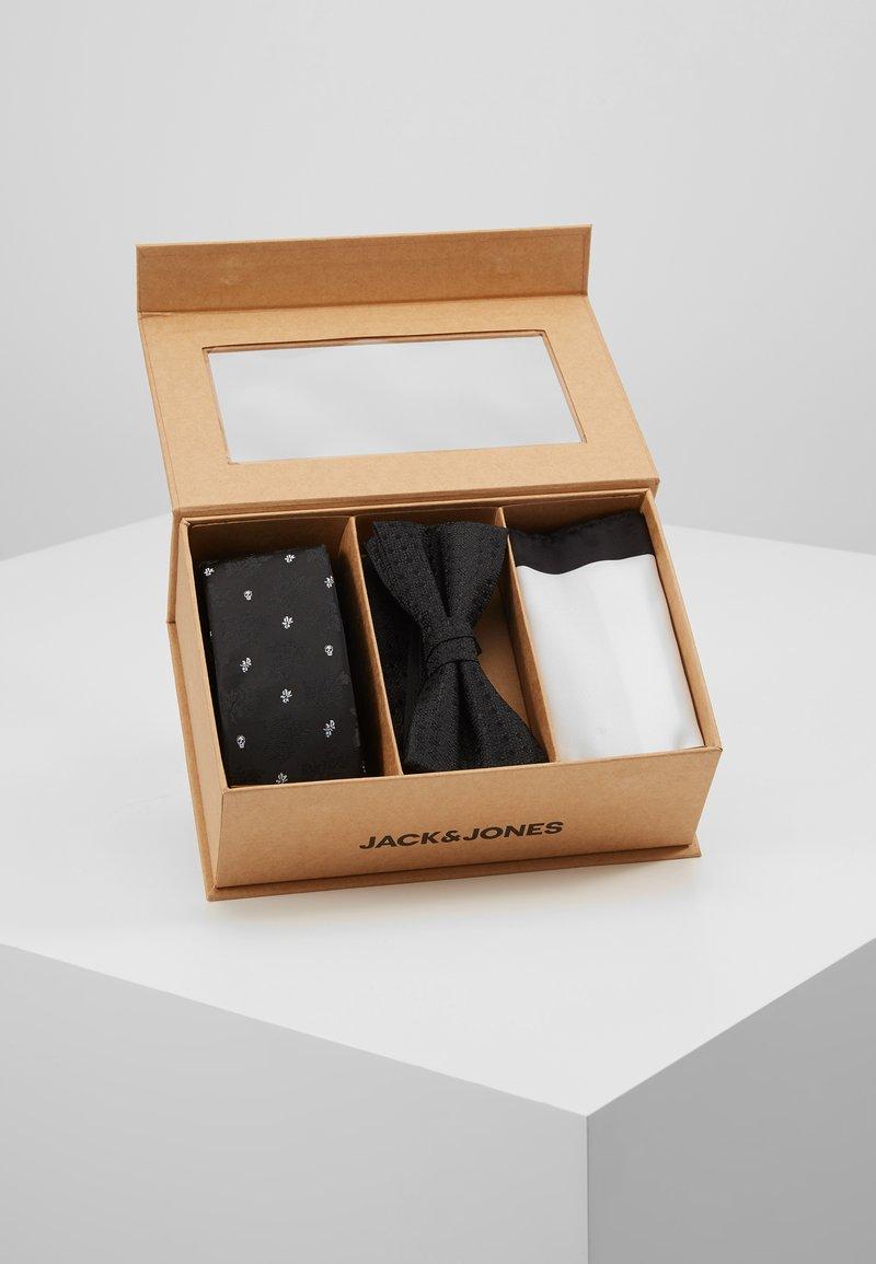 Jack & Jones - JACFREDERIK GIFT BOX SET - Kapesník do obleku - black