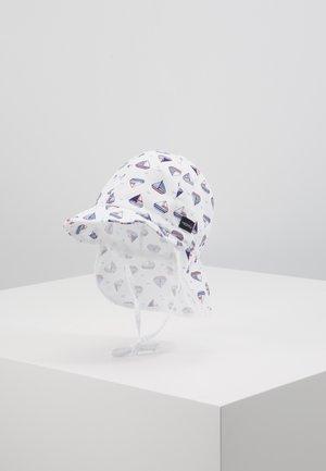 MINI - Hat - cerulean/weiß