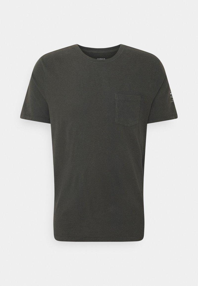 Ecoalf - AVANDARO MAN - Print T-shirt - caviar