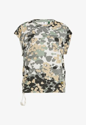 GYRE AO KNOT R T WMN CAP SL - Print T-shirt - khaki/olive