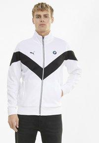 Puma - BMW TRACK JACKET - Trainingsvest - white - 0
