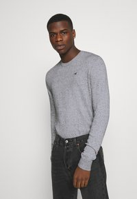 Hollister Co. - CORE CREW - Pullover - light grey - 0
