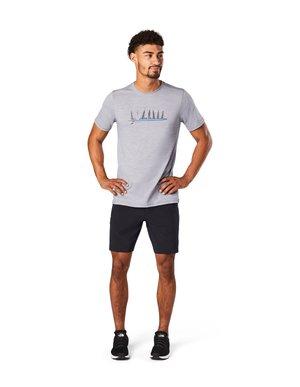 T-shirt print - light gray heather