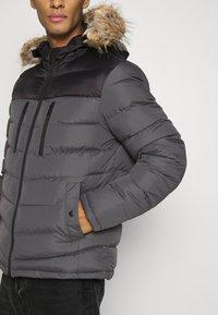 Brave Soul - INVERNESS - Winter jacket - black/grey - 6