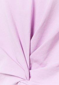 DKNY - TWIST FRONT CREWNECK - Sweatshirt - lilac - 2