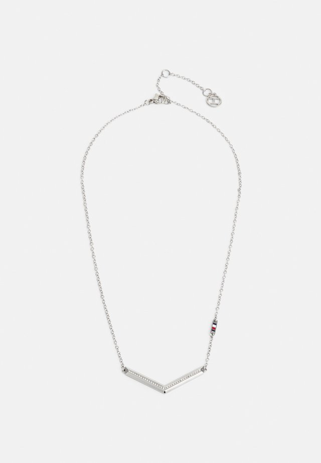 DRESSED UP - Necklace - silver-coloured